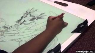Speed Drawing Yu-Gi-Oh 5D