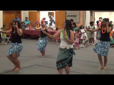 Pacific Islander Cultural Dance during Hon. Solo Mara