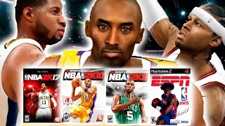Could A Team Of NBA2K Cover Athletes Go 82-0? NBA 2K17 Challenge