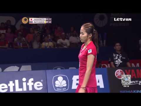 Ratchanok Intanon vs Hashimoto Yui | Badminton Open 2015 New
