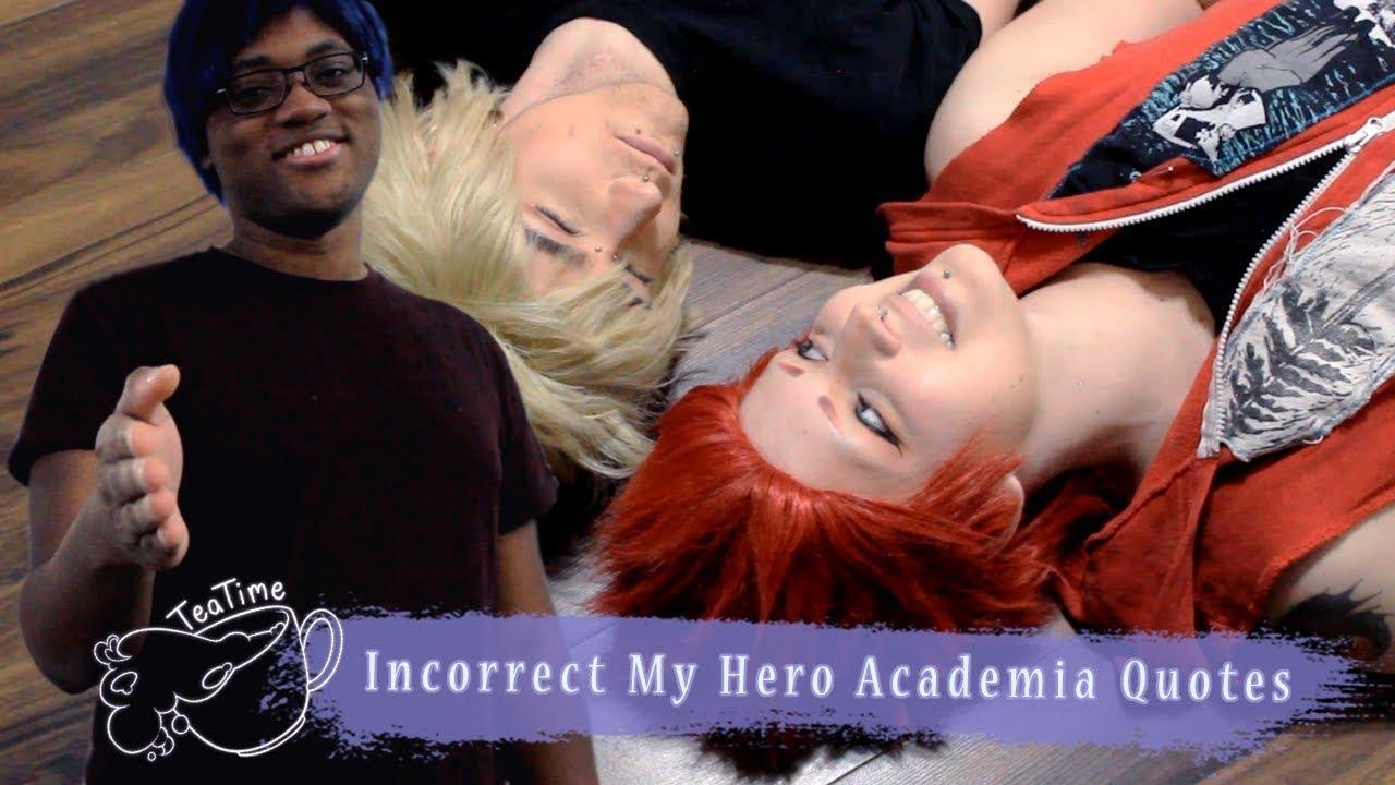 Bnha Cosplay Incorrect My Hero Academia Quotes Kiribaku Iida
