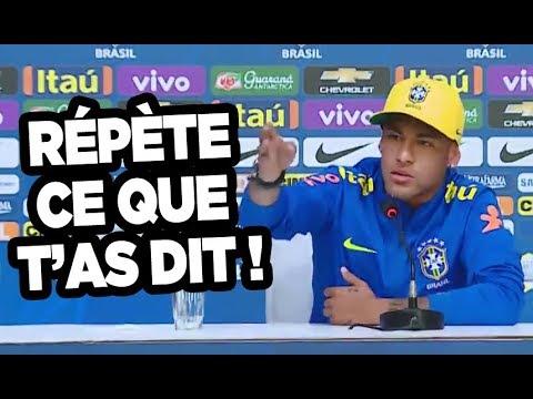 Neymar HUMILIE un journaliste, regarde ce qu\'il a dit !