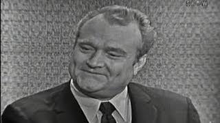 What's My Line? - Red Skelton; Chuck Connors [panel] (Sep 25, 1960)