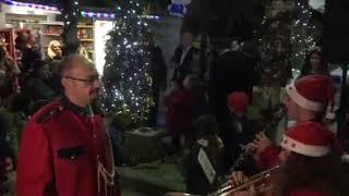 Άναμμα χριστουγεννιάτικου δέντρου στο Πυθαγόρειο Σάμου