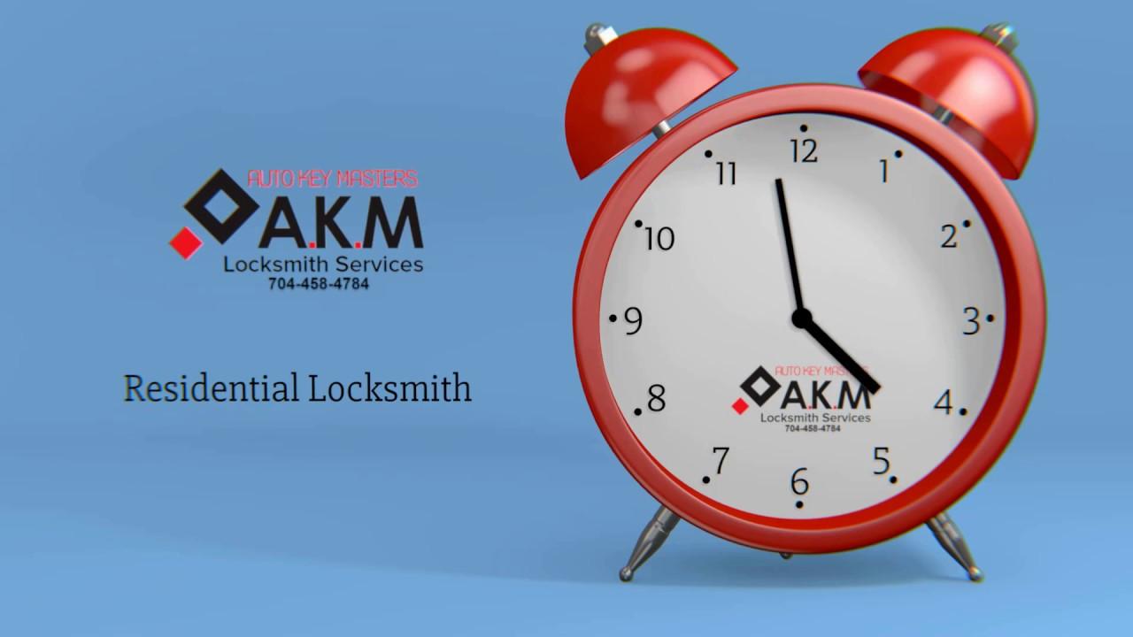Locksmith Services in Charlotte NC | AKM Auto Key Masters