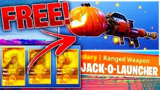 How To Get FREE HIDDEN PUMPKIN LAUNCHER Schematic! | Fortnite Save The World