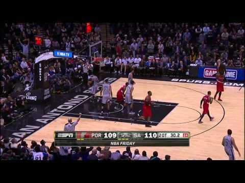 Kawhi Leonard Full Highlights Spurs vs Blazers Game 5 (5/14/2014) 22 Pts, 5 Stl - Project Spurs
