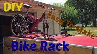 Diy Easy To Make Bike Rack