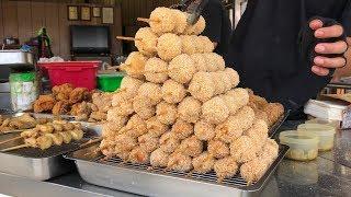 雞肉丸子 - 台灣街頭美食 (Fried Chicken Ball - Taiwanese Street Food)