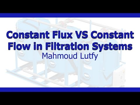 Constant Flux VS Constant Flow in Filtration Systems