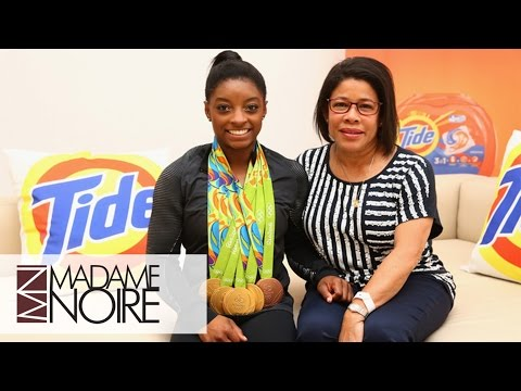 Simone Biles' Mom Talks Raising An Olympian & Having Zendaya Coleman Play Her In Biopic