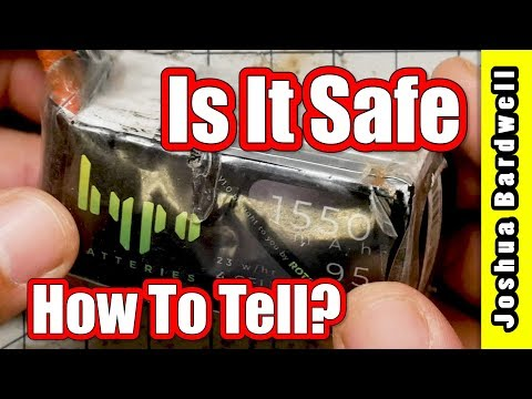 Is Your LiPo Safe To Charge   WHEN TO THROW IT OUT
