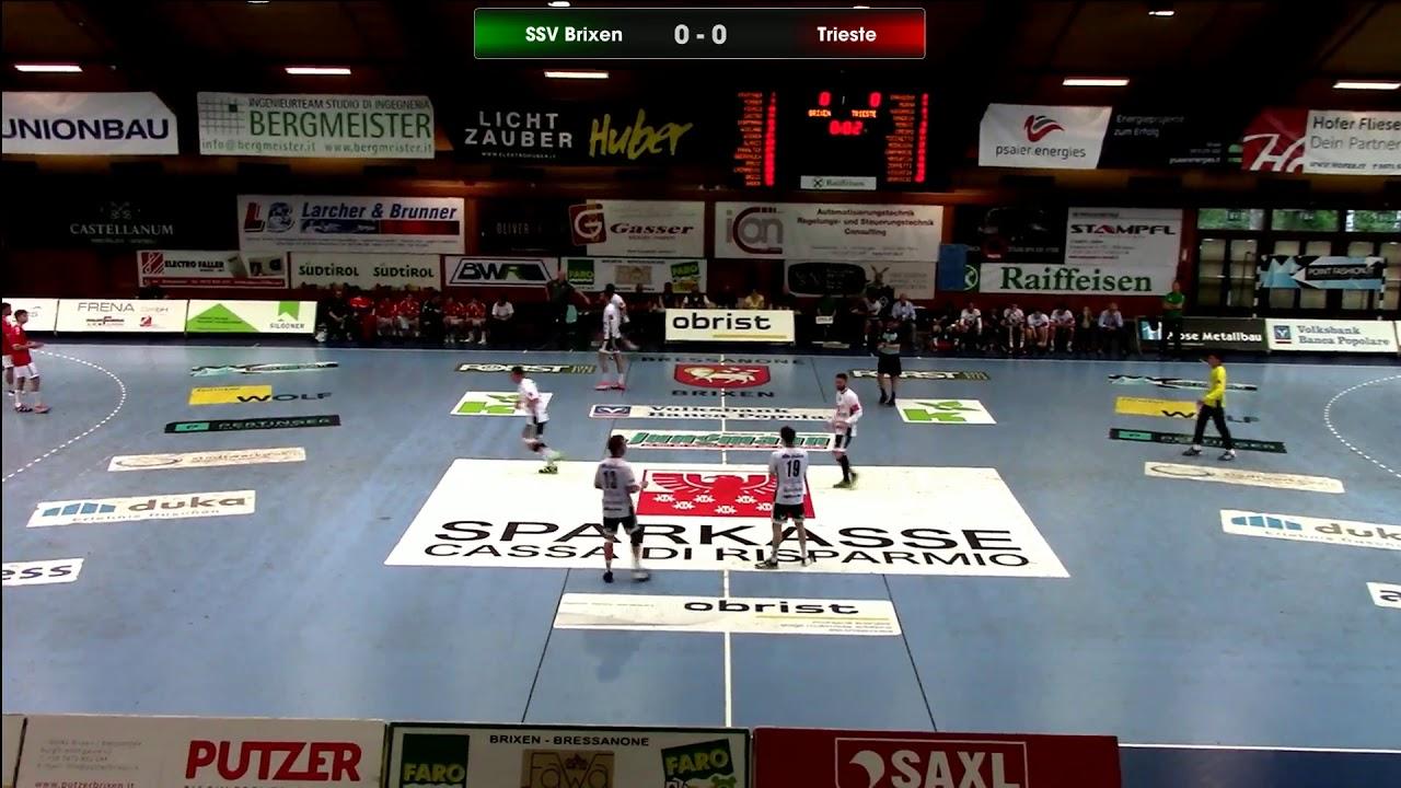 Serie A1M [Promozione 9^]: Brixen - Trieste 28-23