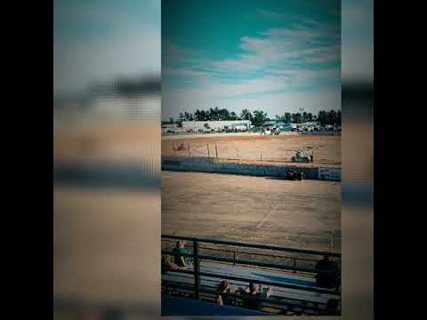 Upper Peninsula International Raceway Escanaba Michigan Summer of 2019 Dirt track racing video clips. - dirt track racing video image