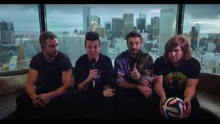 bastille of the night & bad blood (acoustic) 2014