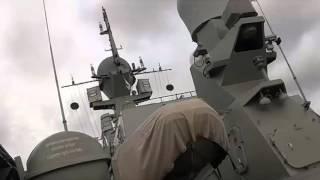 Из акватории Каспийского моря по террористам в Сирии нанесен удар 18 ю крылатыми ракетами Калибр НК