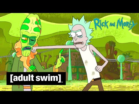 Adult Swim VF - Rick Et Morty 🇫🇷 | Les Ricks Sont Tombés Sur La Tête [extrait S02E06]