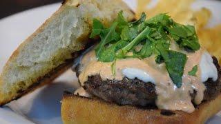 "Ultimate Italian ""goombah"" Cheese Burger Cooking Italian With Joe"