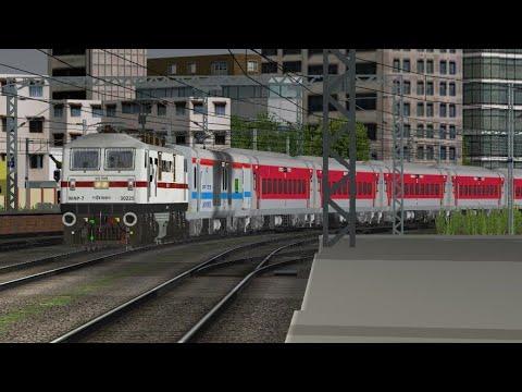 12355/Archana Express meets Shaheed Express,Malwa Express in INDIAN TRAIN SIMULATOR by MSA Repaints