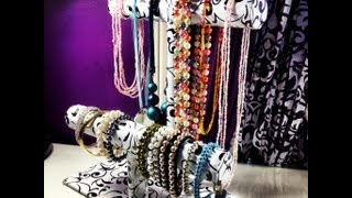 DIY: Bracelet & Necklace Stand ♡ Theea...