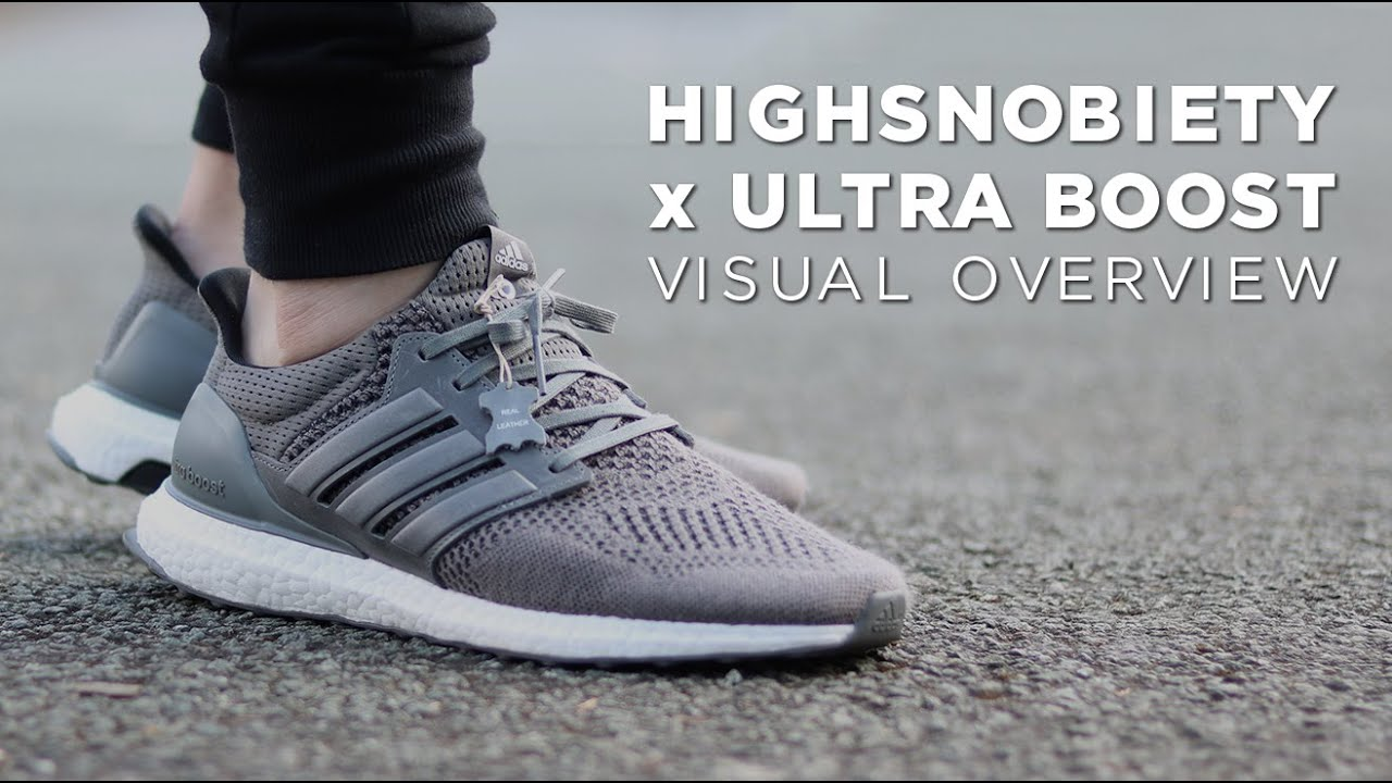 541e4b18318 Highsnobiety x Ultra Boost - Visual Overview - YouTube