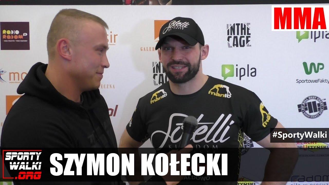 Szymon Kołecki przed Babilon MMA 3