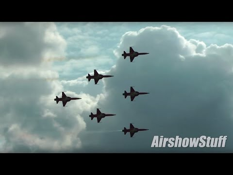 Patrouille Suisse Display Team - Sanicole Intl Airshow 2015