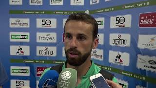 Après Troyes - HAC (1-2), réaction d'Alexandre Bonnet