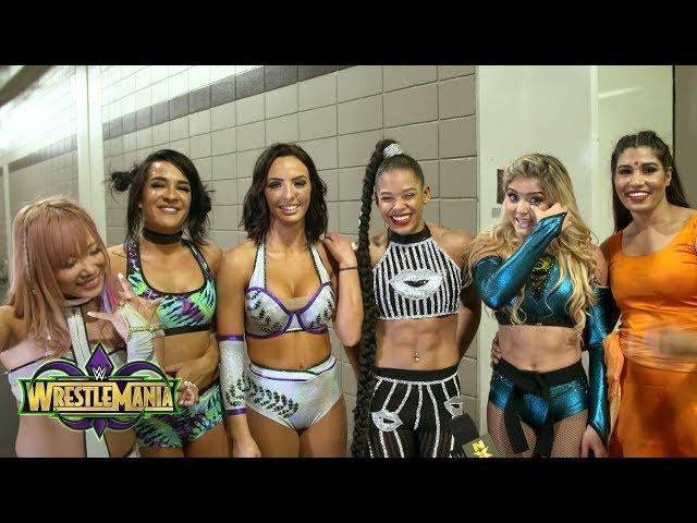 Women of NXT relish their WrestleMania takeover: Exclusive, April 8, 2018