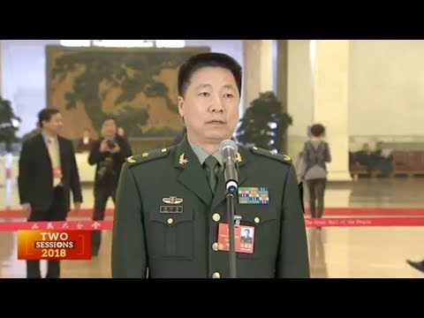 First taikonaut talks about China's space program at CPPCC