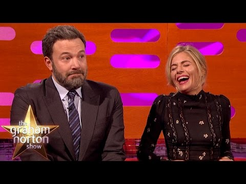 Ben Affleck Had A LOT of Sex s with Sienna Miller  The Graham Norton