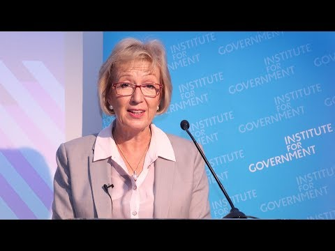 In conversation with Andrea Leadsom