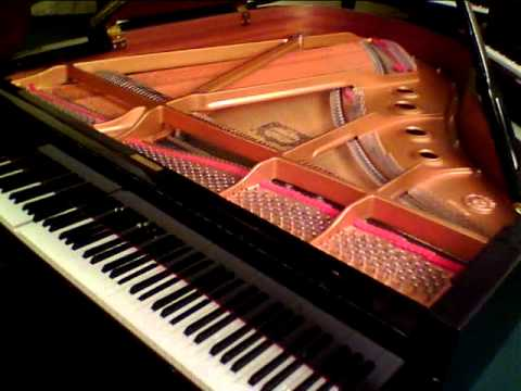 Yamaha disklavier c2 2001 5 39 8 playing debussy 39 s r verie for Yamaha c2 piano for sale
