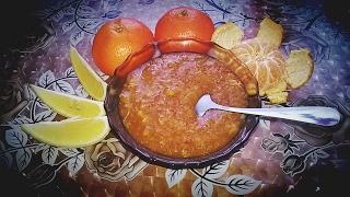 Мандариновое варенье с лимоном