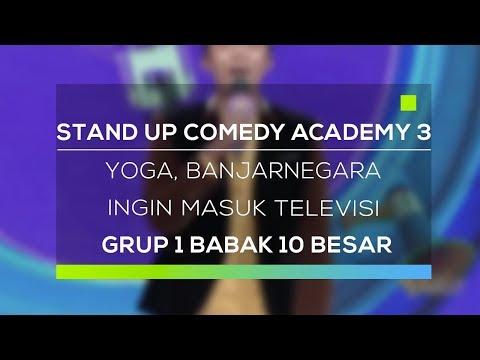 Stand Up Comedy Academy 3 : Yoga, Banjarnegara - Ingin Masuk Televisi