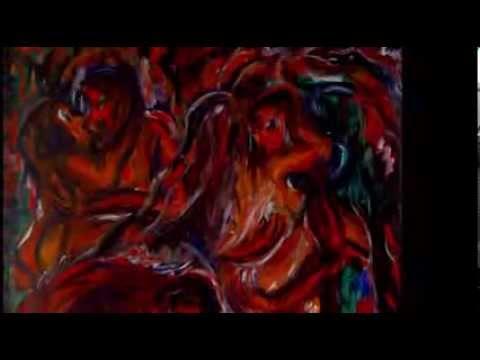 nabil Kanso Jazz painting series 70s