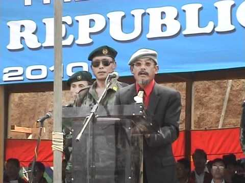 Government Of The People's Republic Of Nagaland, 21st March 2010. Video 12