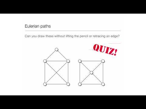 Computation In Complex Systems: Easy & Hard : Eulerian Paths Quiz thumbnail
