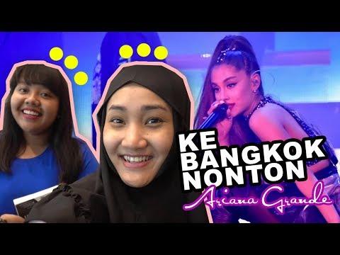 Nonton Ariana Grande di Bangkok! | OLIEBOLLEN  #Episode6