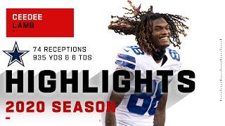 CeeDee Lamb Full Rookie Season Highlights | NFL 2020