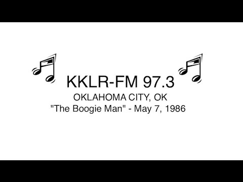 "The ""Boogie Man"" KKLR-FM 97.7 Oklahoma City 5/7/16 RADIO AIRCHECK"
