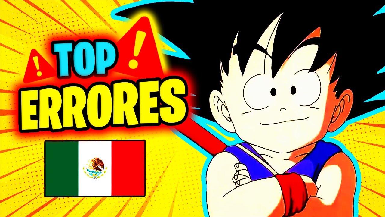 🔥 TOP 36 ERRORES 🔥 del doblaje latino de Dragon Ball (Piccolo Daimaku, Onda glaciar, Nube y más) 🔥
