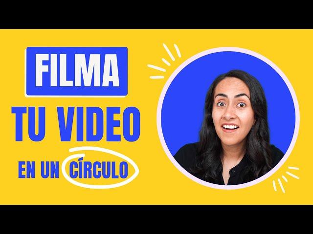 Cómo tener mi VIDEO CORTADO EN CÍRCULO - fácil y gratis | Tutorial de Canva