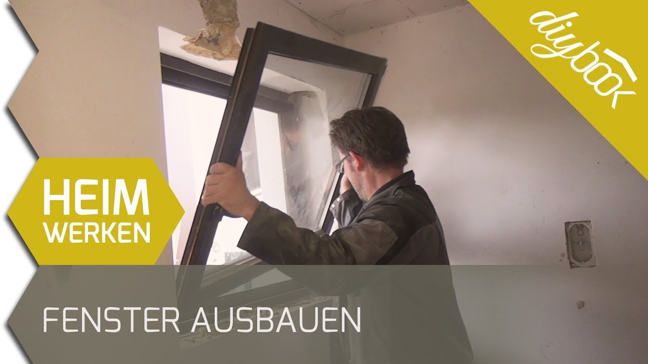 fenster ausbauen youtube. Black Bedroom Furniture Sets. Home Design Ideas