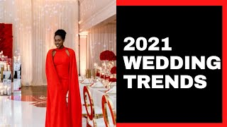 5 New Top Trends for 2021 Weddings [Real Photos & Videos]