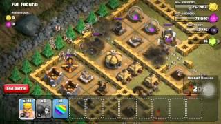 Clash of Clans Level 33: Full Frontal (walkthrough)