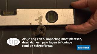 Thermostatische kraan installeren