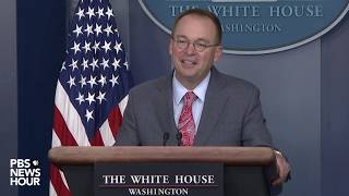 WATCH: 2020 G-7 will be held at Trump resort in Miami, Mulvaney says