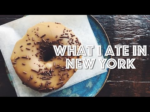 WHAT I ATE IN NEW YORK (VEGAN) #1