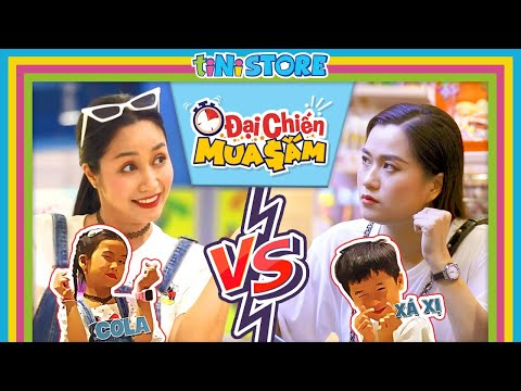 Lâm Vỹ Dạ 'gặp đối thủ' đầu năm trong 'Đại chiến mua sắm' nghẹt thở với Ốc Thanh Vân tại tiNi Store